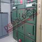 Armoire electrique HT avec composant contenant de l'amiante - photo amiante