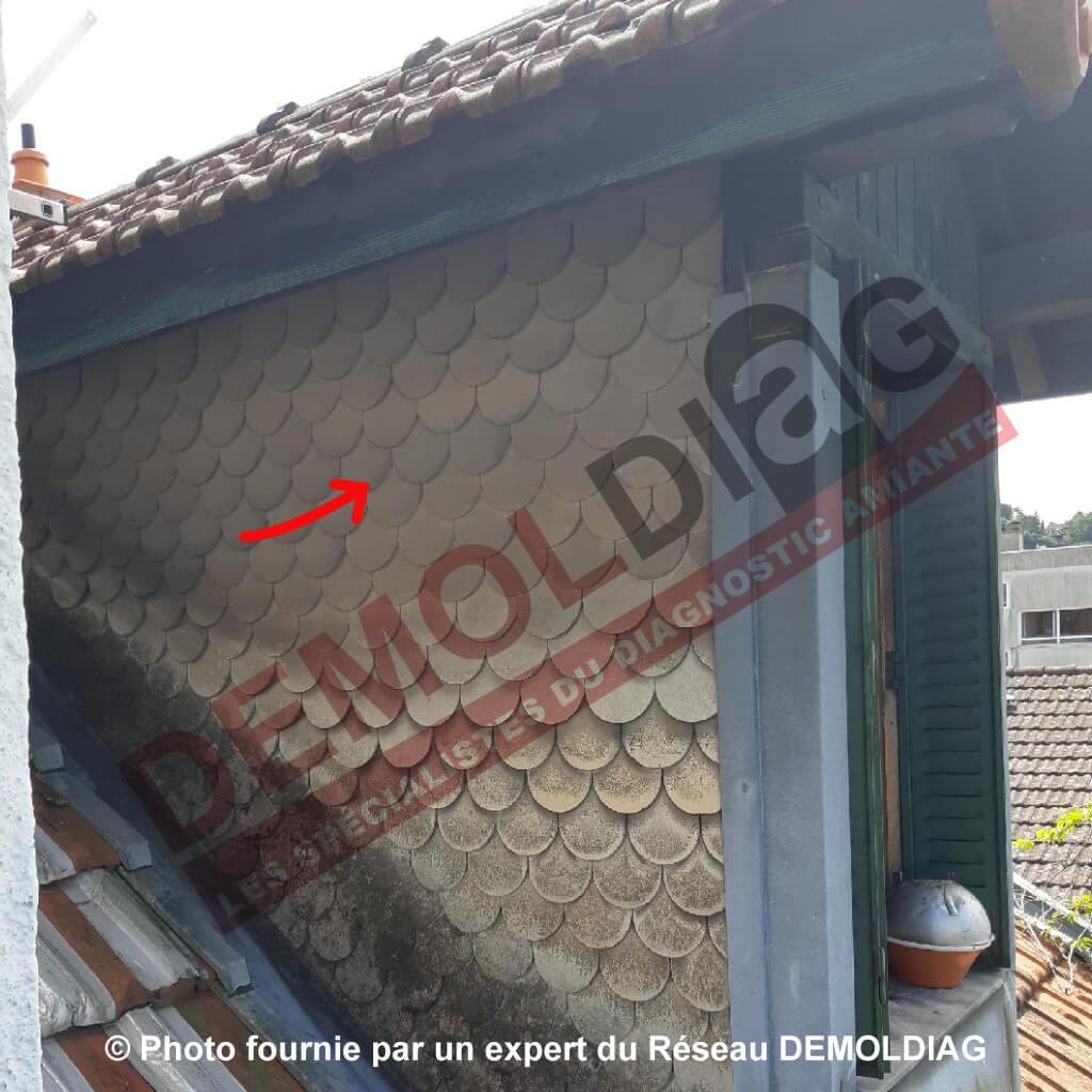 Ecran de cantonnement - panneaux type panocel contenant de l'amiante