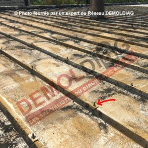 Photo 3 rondelle amiante étanchéité toiture