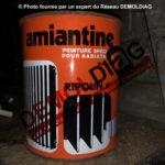 Peinture amiante radiateur