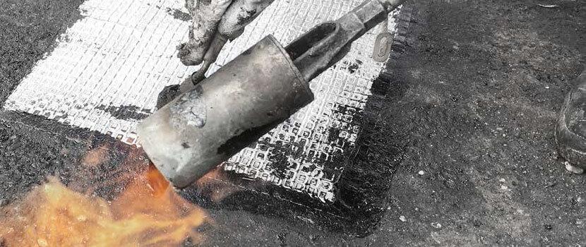 repérage amiante avant travaux des relevés d'étanchéité attenants